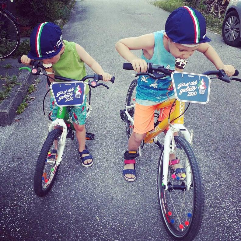 Zwei Giro Teilnehmer