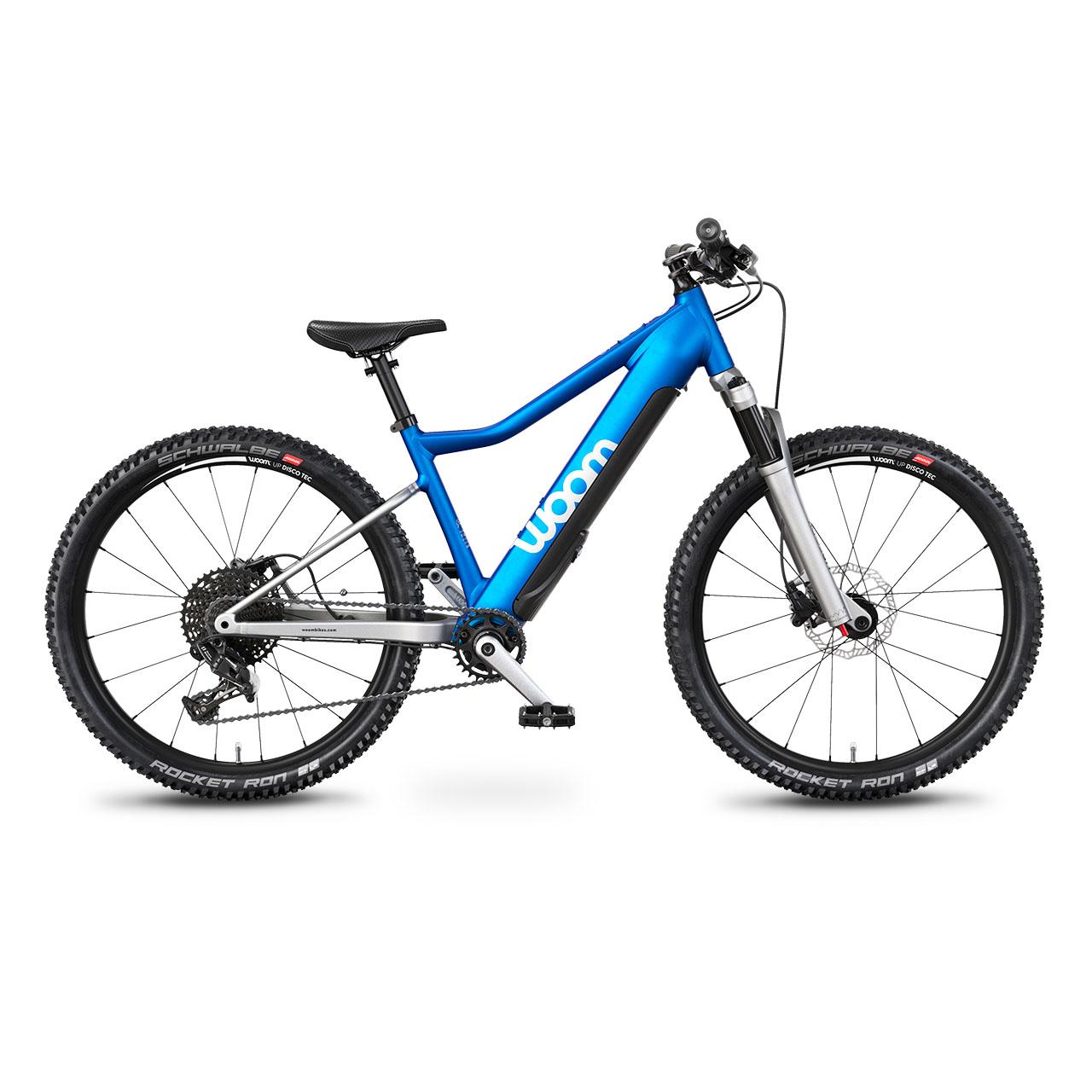 woom UP E-Mountainbike Seitenansicht