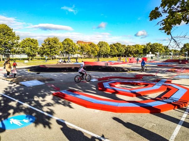 Radmotorikpark Wien Donauinsel